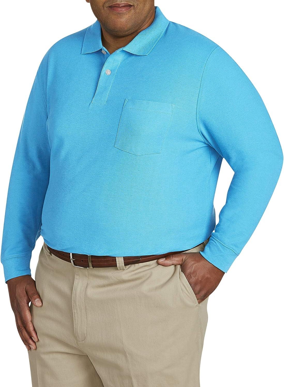 Canyon Ridge Mens Big and Tall Classic Short Sleeve Pique Polo Shirt
