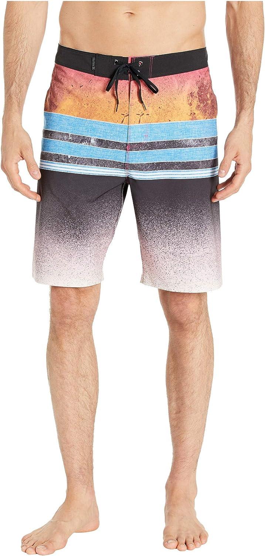Hurley Mens Phantom Pavones Striped 20 Boardshort Swim Short