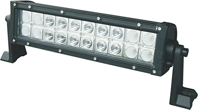 Amazon Com Radlites 12 Led Light Bar 4200 Lumen Cree Led S 60 Watt Combo Utv 4x4 Truck Auto Automotive