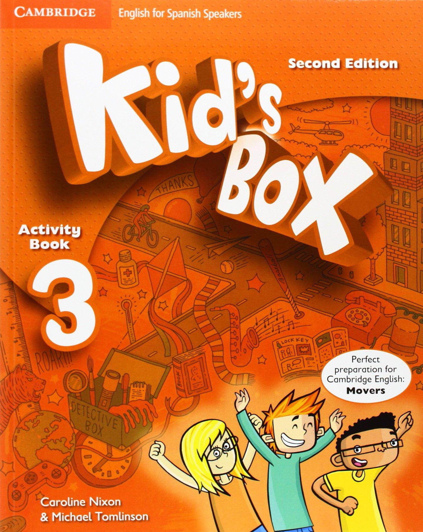 KIDS BOX 3 WORKBOOK 2014 CAMBRID Paperback – 2014