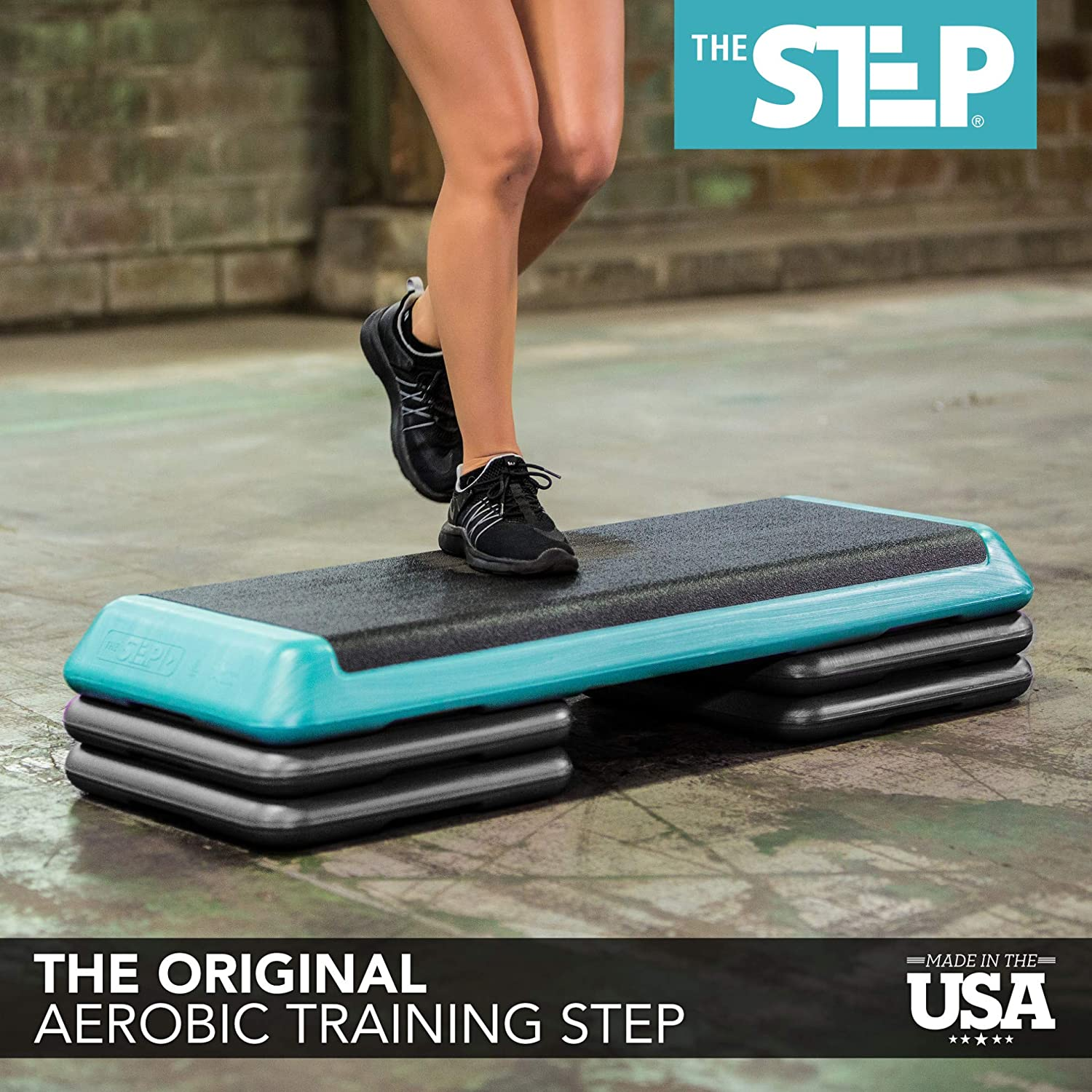Amazon Com The Step Original Aerobic Platform For Total Body