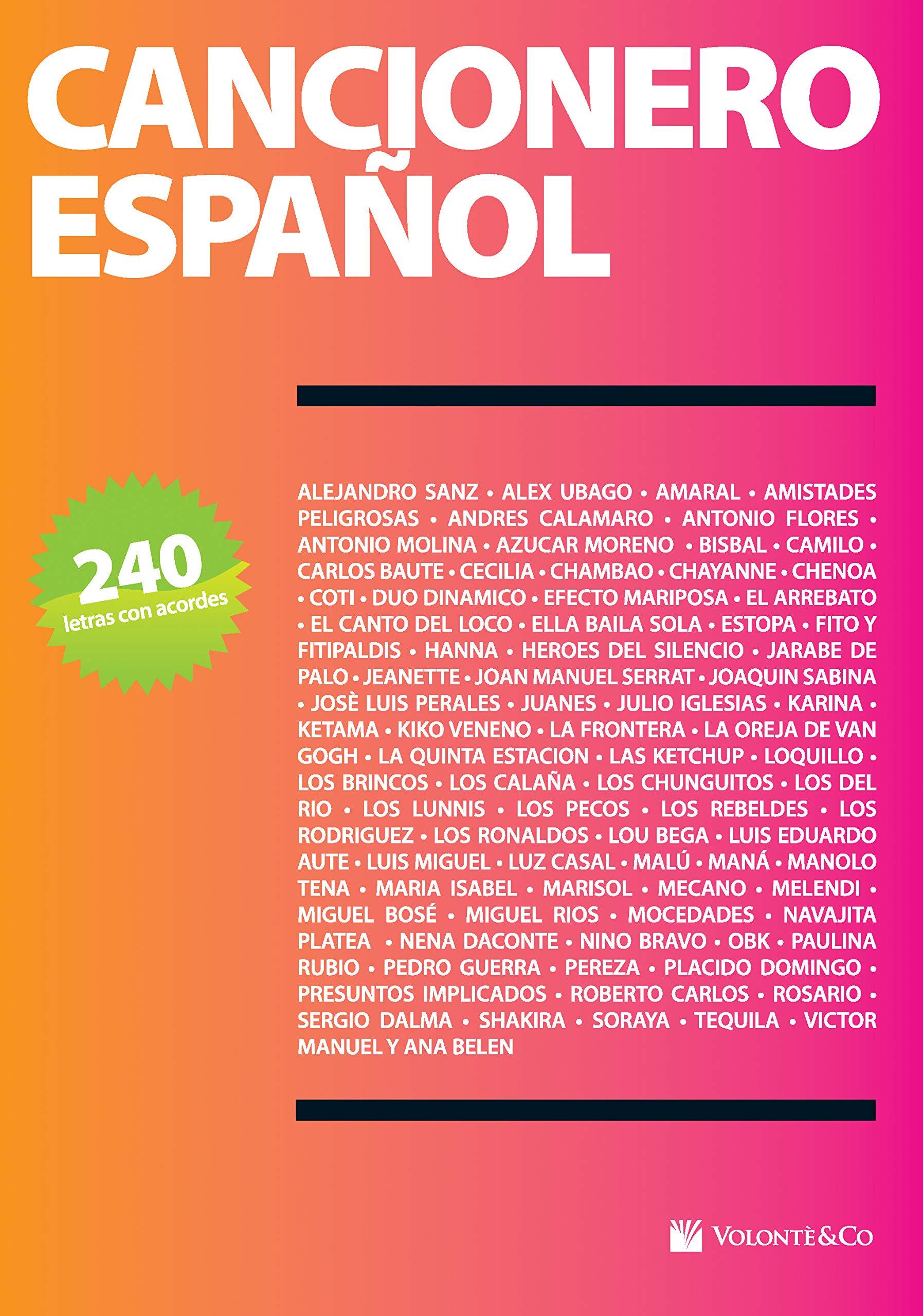 CANCIONERO ESPANOL: Amazon.es: Aa.Vv.: Libros
