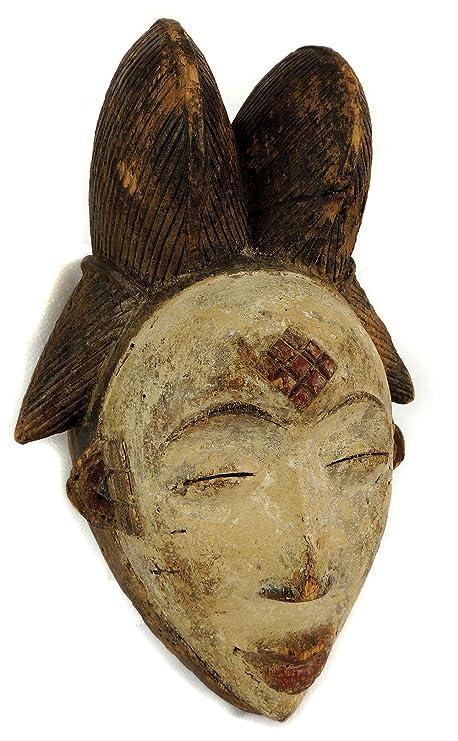 Africa Direct Punu Maiden Mukudji - Máscara de espiral, diseño ...