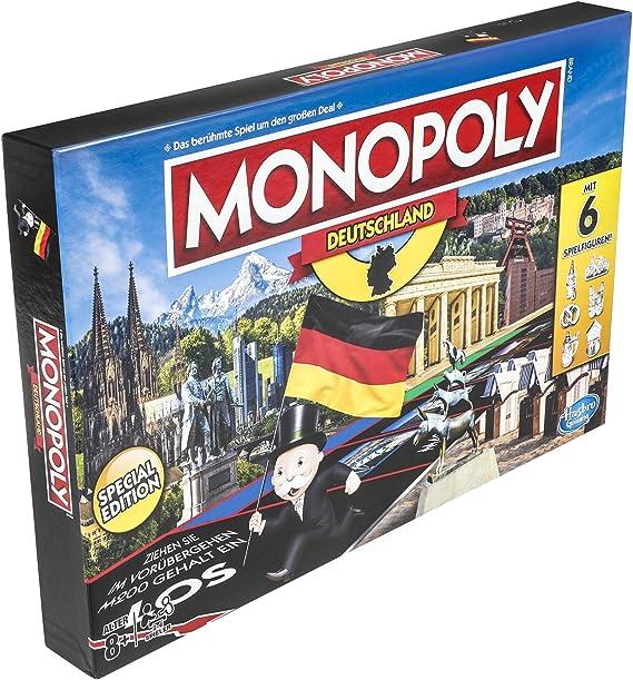 Hasbro Monopoly e1553100 Monopoly Familia de Alemania, Parte: Amazon.es: Juguetes y juegos