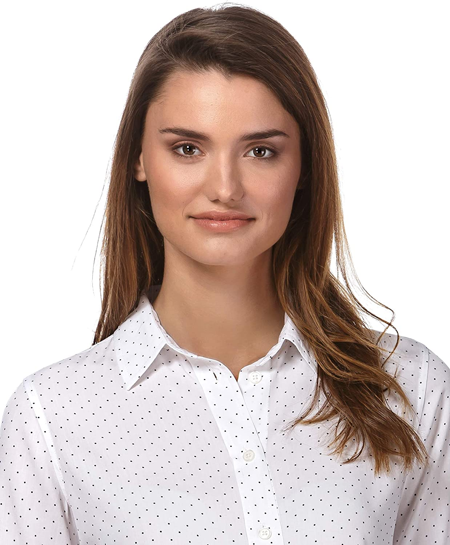Vincenzo Boretti Blouse Straight Cut with Shirt Collar