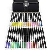 Castle Art Supplies 36 Piece Colored Pencil Set With Canvas Wrap