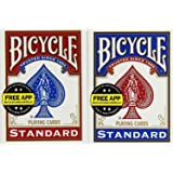 US Playing Card Co. - 1001781 - Jeu de Société - Bicycle Rider Back Standard Index - 2 Pack