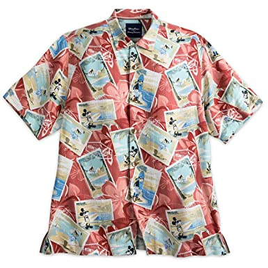 33d21b62 Image Unavailable. Image not available for. Color: Mickey Mouse and Friends  Silk Shirt for Men by Tommy Bahama