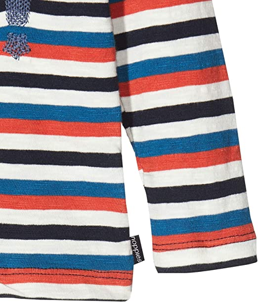 Noppies Baby-Jungen B Regular T-Shirt Ls Apple Valley Y//D STR Langarmshirt