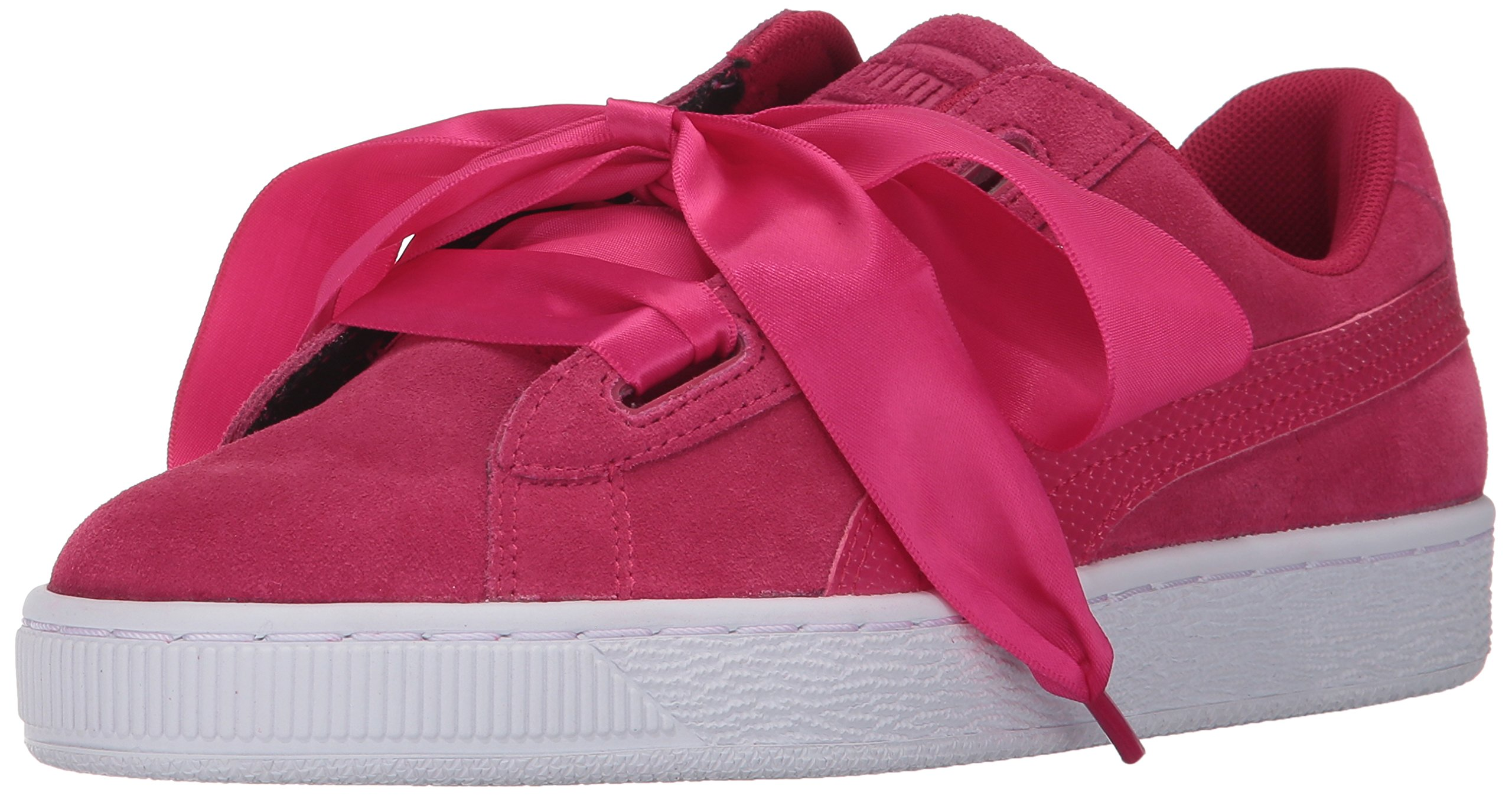 PUMA Unisex-Kids Suede Heart SNK,Love Potion/Love Potion,5.5 M US Big Kid
