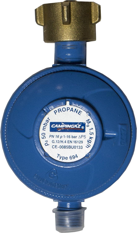 Campingaz Regulador de gas 50 mbar, 1, 5 kg/h regulador de ...