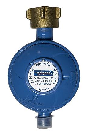 Propan Druckregler 50mbar für Gasbrenner Hockerkocher Gasdruckregler Propangas