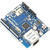 Ranura para tarjeta de memoria Ethernet Shield + microSD, controlador de Red W5100 para Arduino UNO / MEGA por Paradisetronic