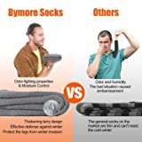 Bymore Heated Socks for Women, Thermal Socks for