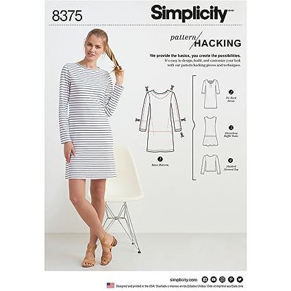 Amazon Simplicity Patterns US60A Sportswear Arts Crafts Interesting Simplicity Patterns