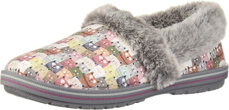 Skechers Damen Too Cozy Cuddled Up Slipper, Pkmt, 42 EU