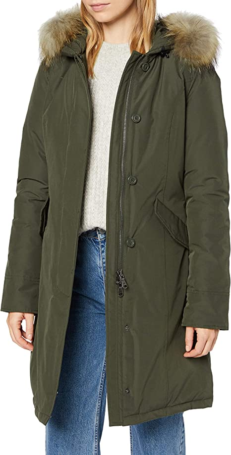 Canadian Classics Fundy Bay Long Parka Voor Dames Amazon Nl