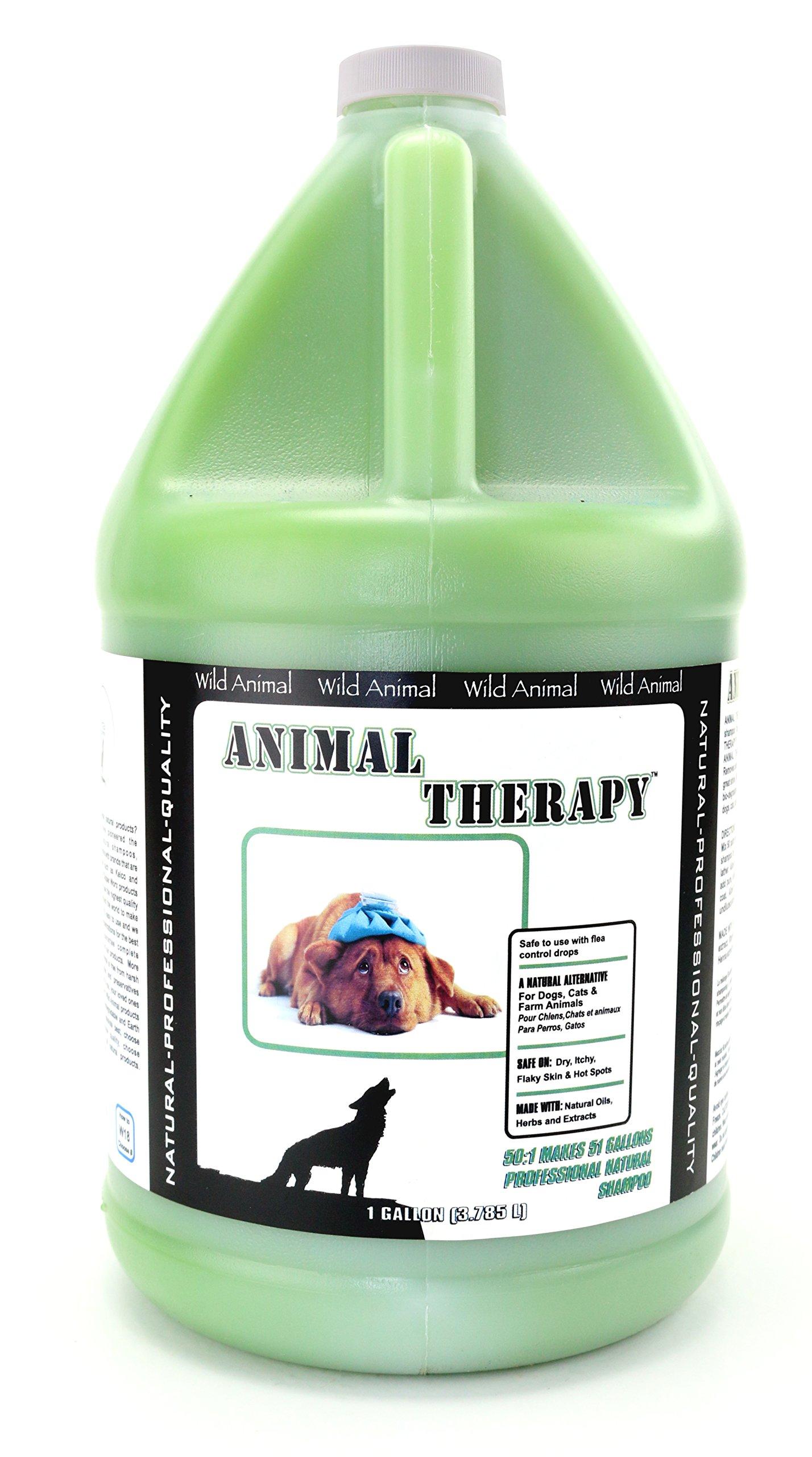 Wild Animal Animal Therapy 50:1 Shampoo, Gallon