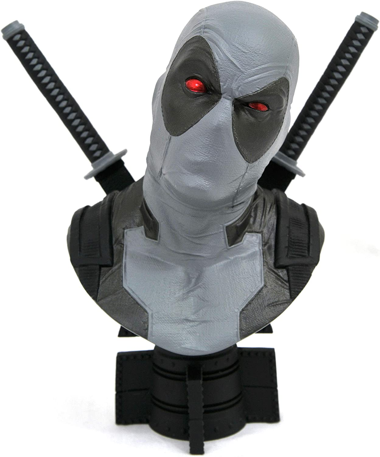 Multicolor 2 Scale Bust DIAMOND SELECT TOYS San Diego Comic-Con 2019 Marvel Legends in 3-Dimensions X-Force Deadpool 1