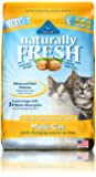 BLUE Naturally Fresh Ultra Odor Control Multi-Cat Quick-Clumping Cat Litter 14-lb