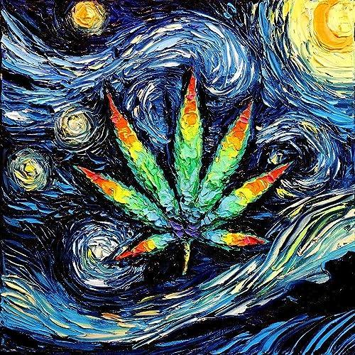 Image result for weed leaf psychedelic