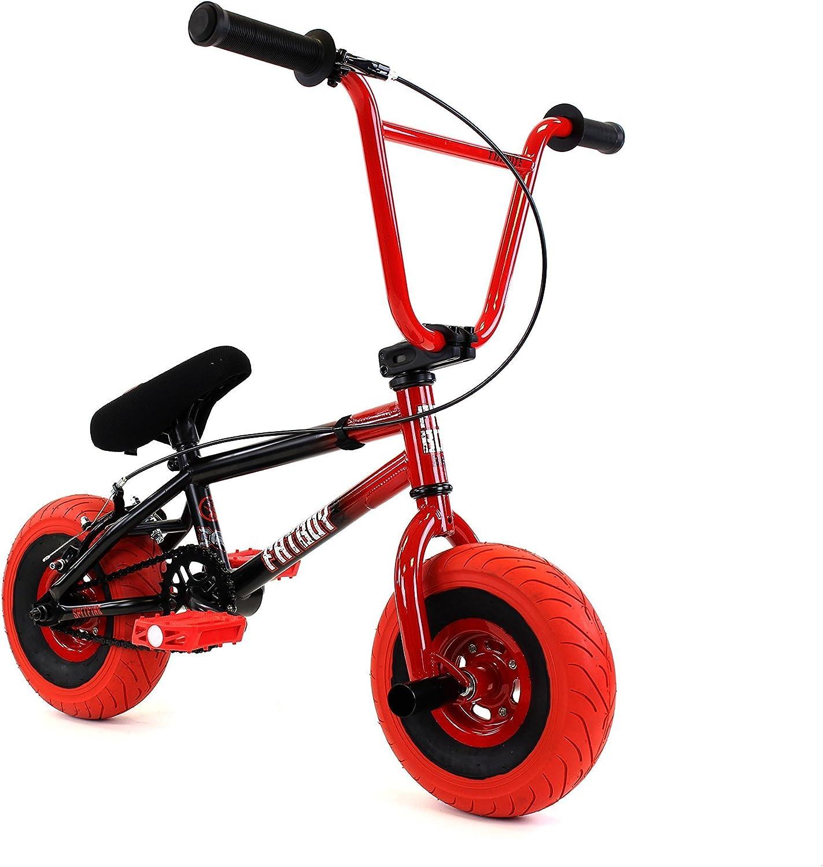 Fatboy Fatboy Mini BmxミニBMX自転車フリースタイル、レッド/ブラックby Fatboy Mini Bmx