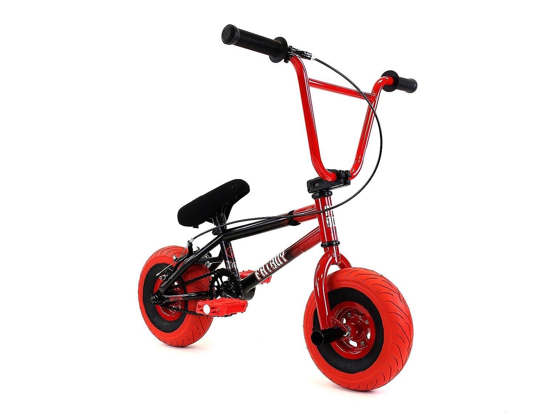 Fatboy Fatboy Mini BmxミニBMX自転車フリースタイル、レッド/ブラックby Fatboy Mini Bmx B00NJX18NI