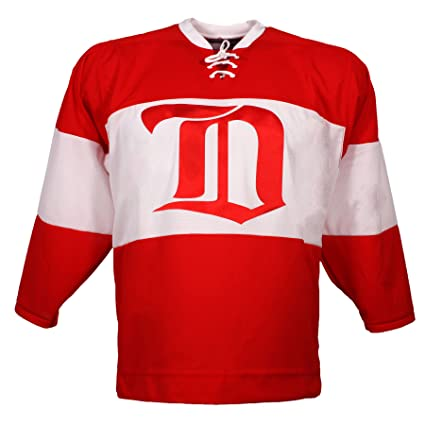 968e1fe07 Detroit Red Wings Vintage Replica Jersey 1926 (Away) - Size Medium