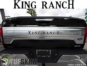 "TUFSKINZ | 2018-up F-150""King Ranch"" Inserts - 9 Piece Kit (Gloss Black)"