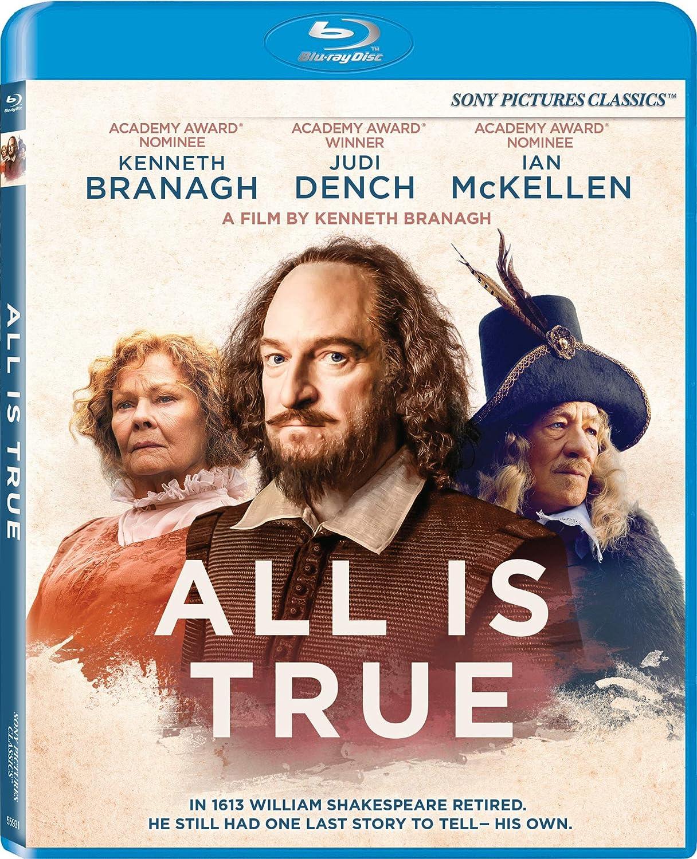 All Is True [Blu Ray] [Blu-ray]