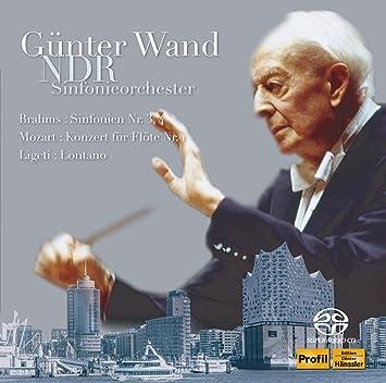 ギュンター・ヴァント 不滅の名盤 [10] / 北ドイツ放送交響楽団編 ブラームス : 交響曲第3番・第4番、モーツァルト、リゲティ (Brahms : Sinfonien Nr.3, 4 & Mozart, Ligeti / Gunter Wand, NDR Sinfonieorchester) [2SACD Hybrid] [Live] [国内プレス] [日本語帯・解説付]