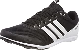 adidas Distancestar, Scarpe da Atletica Leggera Donna, Nero (Cblack/Ftwwht/Hireor Cblack/Ftwwht/Hireor), 44 EU