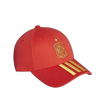adidas FEF 3S Gorra, Hombre, Rojo (dorfue), Talla única