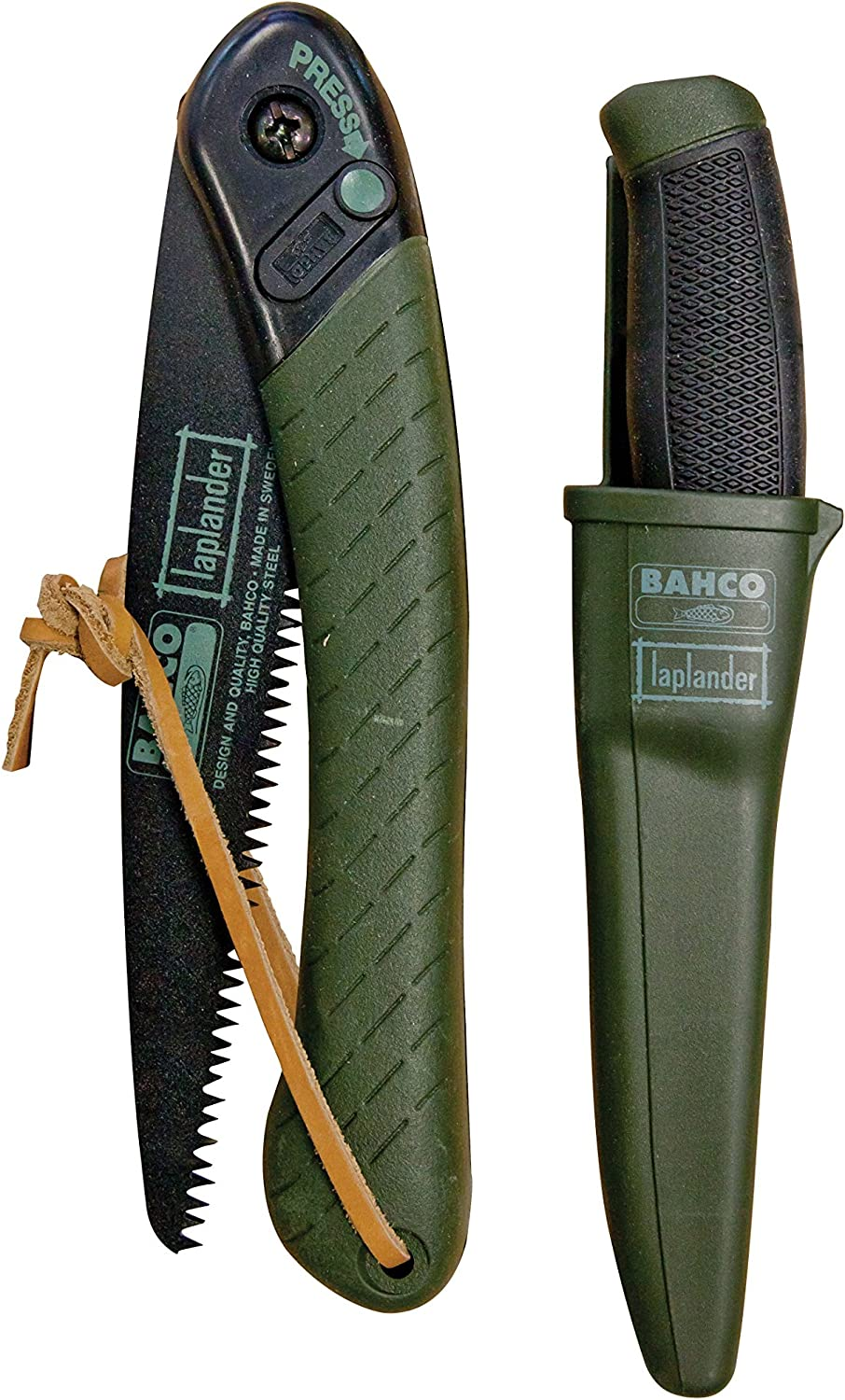 Bahco Laplander & Multipurpose Tradesman Knife Set