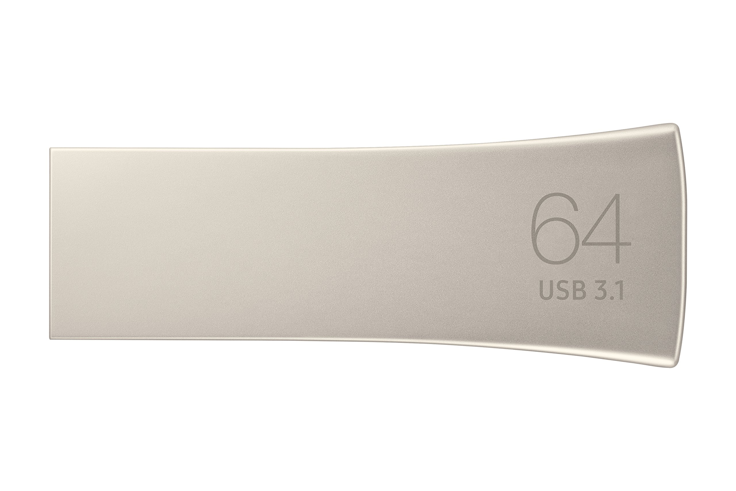 Samsung BAR Plus 64GB - 200MB/s USB 3.1 Flash Drive Champagne Silver (MUF-64BE3/AM) by Samsung (Image #4)