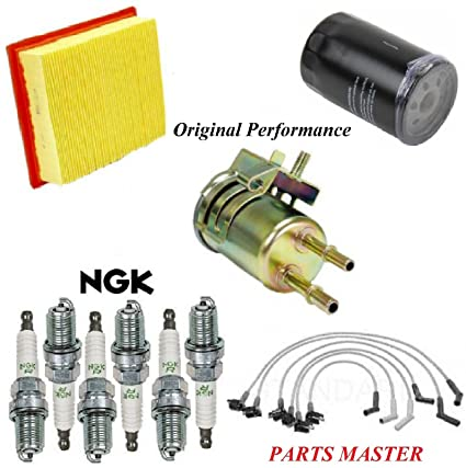 amazon com 8usauto tune up kit air oil fuel filters wire spark plug Ford Ranger Resistor amazon com 8usauto tune up kit air oil fuel filters wire spark plug fit ford ranger v6 3 0l 1999 2000 automotive