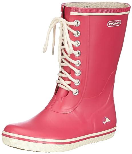 acd6a98c00 Viking Retro Light - Botas Antideslizantes de Goma Mujer: Amazon.es: Zapatos  y complementos