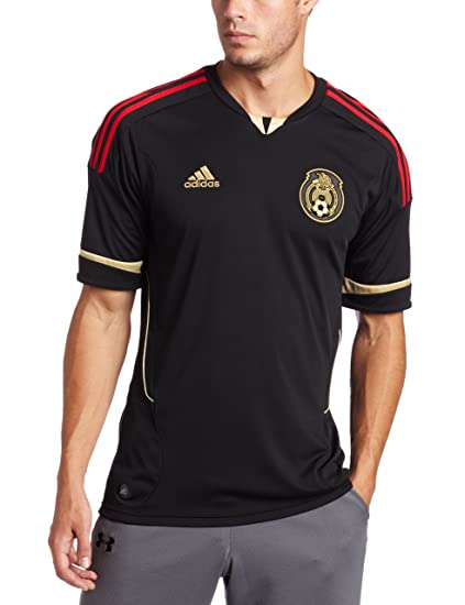 7fcf3f740dcf Amazon.com   Mexico Away Authentic Soccer Jersey