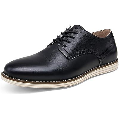 JOUSEN Men's Dress Shoes Leather Casual Oxford Shoes Brogue Business Formal Shoes | Oxfords