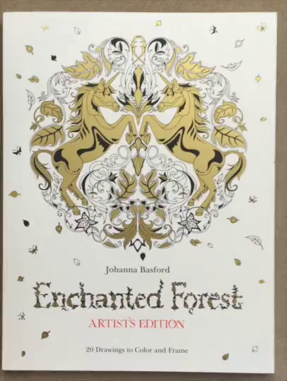 Amazon Customer Reviews Enchanted Forest Artists Edition 20