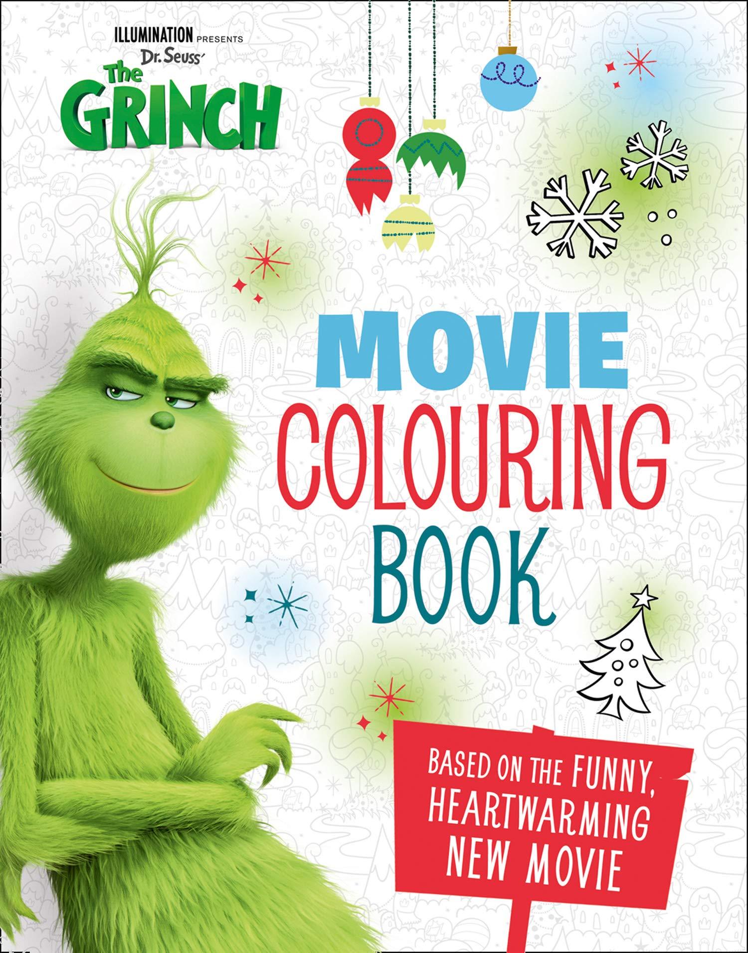 - The Grinch: Movie Colouring Book: Movie Tie-in: NILL, NILL, NILL