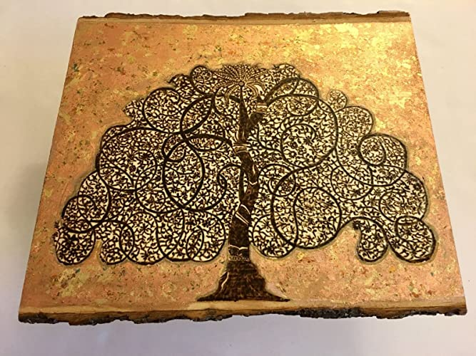 Amazon.com: Handmade and Handcrafted Wooden Wall Art Plaque ...