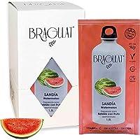 Bragulat Zumo Bebidas y Refrescos Instantáneas en Polvo Concentrado de Frutas, Sandía - 15 Sobres