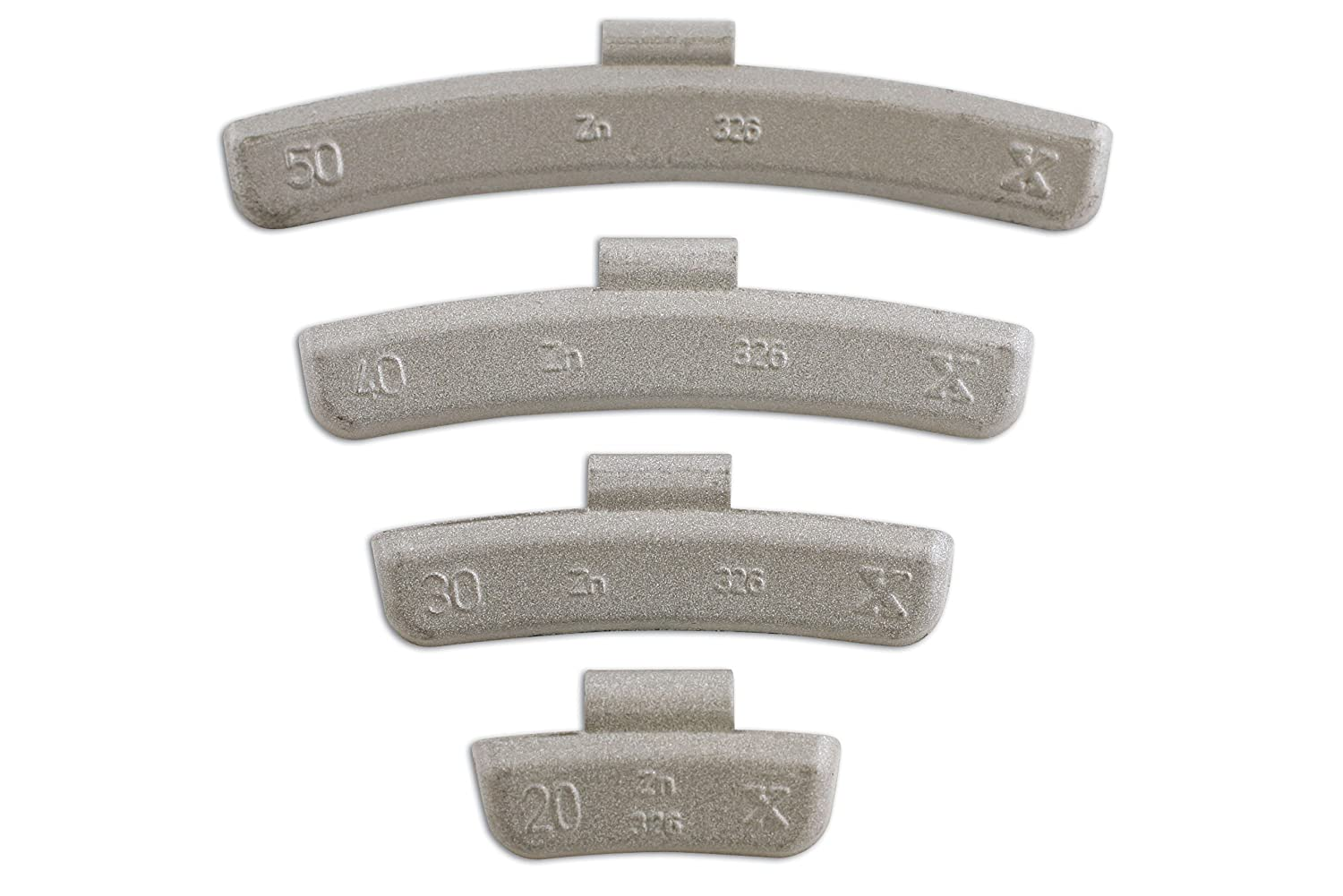 Connect 32858 30g Wheel Weights for Alloy Wheels (Box of 100) The Tool Connection Ltd.