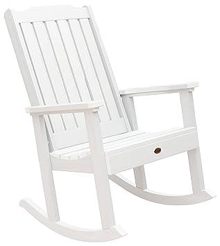 Highwood Lehigh Rocking Chair, White