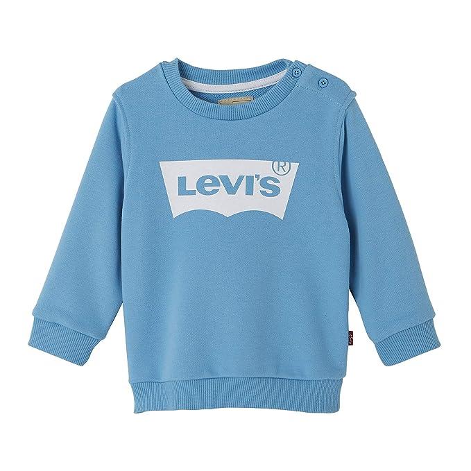 1016d2ecc608 Levi s Kids Baby Boys  Nn15004 42 Sweat Shirt Sweatshirt Blue Grey