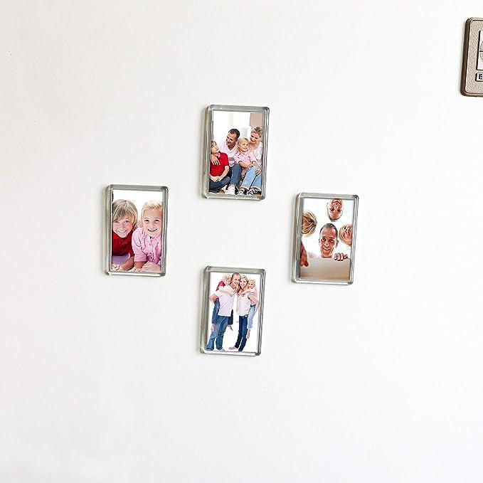 Kurtzy Marcos de Fotos en Blanco con Imán para Refrigerador Marcos ...