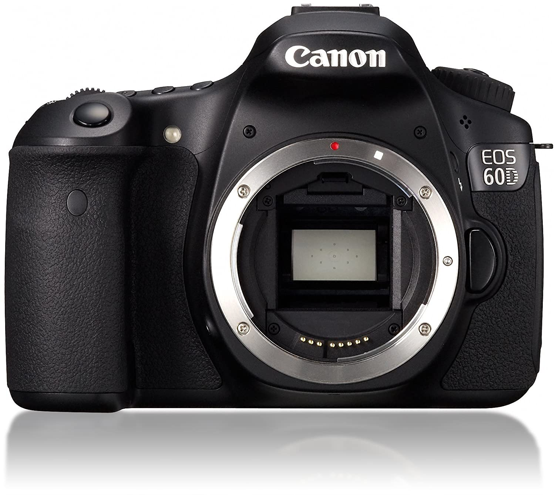 Amazon Canon EOS 60D 18 MP CMOS Digital SLR Camera Body ly International Version Digital Slr Camera Bundles Camera &