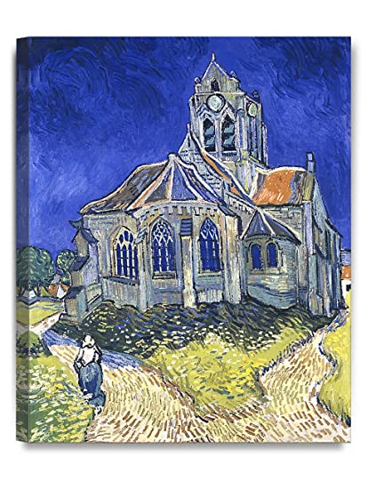 ee88087e807c4b Image Unavailable. Image not available for. Color  DECORARTS - The Church  at Auvers