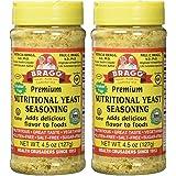 Bragg Nutritional Yeast Seasoning – Vegan, Gluten Free Cheese Flakes – Good Source of Protein & Vitamins – Nutritious Savory